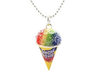 scented snow cone necklace chain