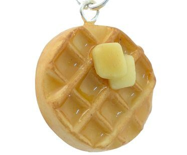 scented waffle necklace butter