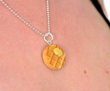scented waffle necklace skin