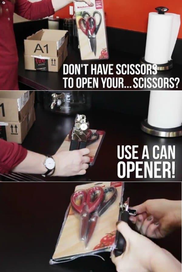 scissor-opening