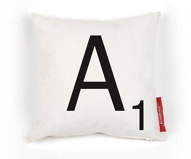 scrabble cushion covers A
