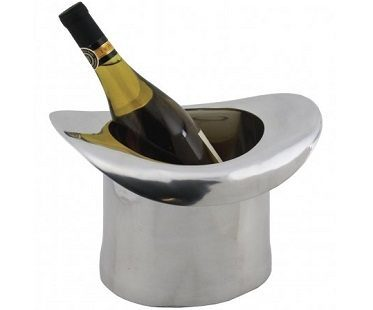 silver top hat ice buckets
