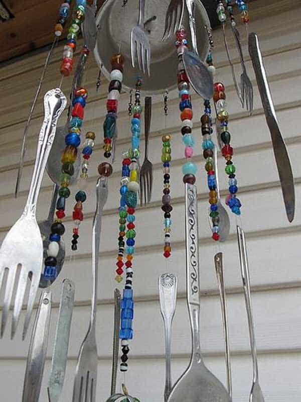 silverware chimes
