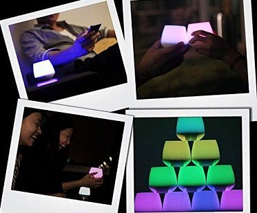 smart led candles colours