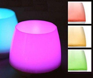 smart led candles pink