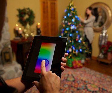 smart string lights ipad