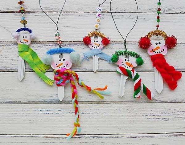 snowman-keys