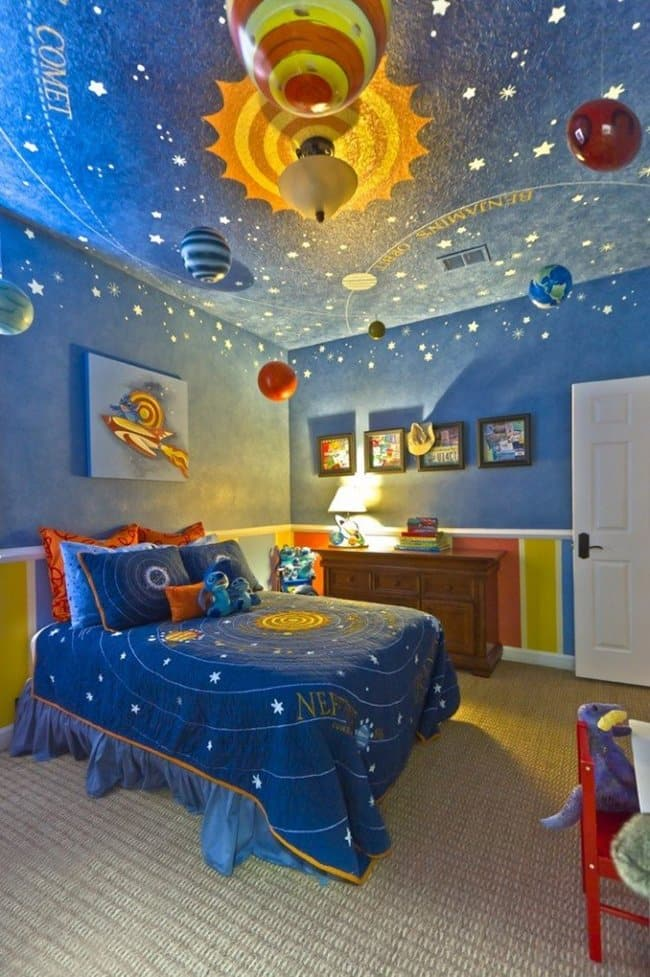 22 awesome themed bedrooms that every kid would love for How much paint do i need for a bedroom