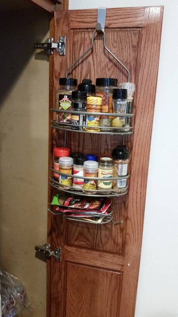 space saving spice caddy