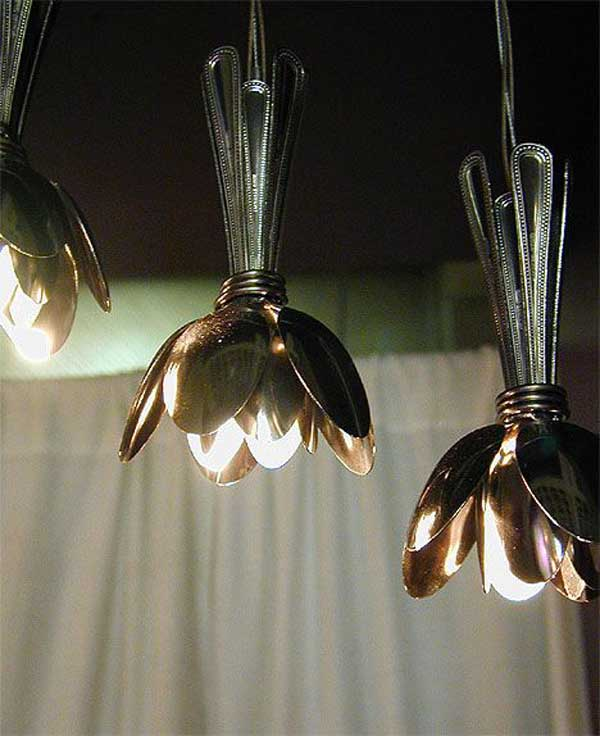 spoon lamps