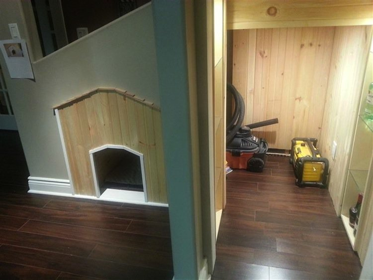 Turn Your Under Stairs Storage Area Into An Awesome Bed