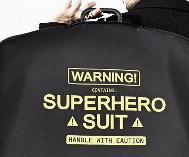 superhero suit carrier