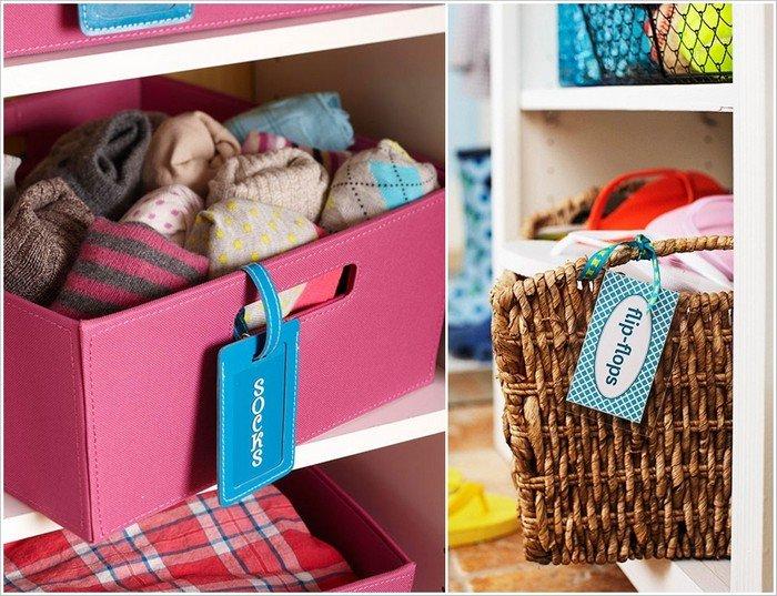tag drawers