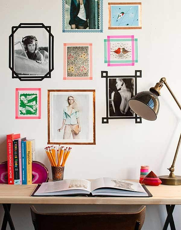 tape-picture-frames