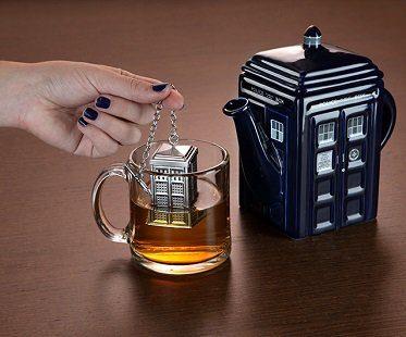 tardis tea infuser