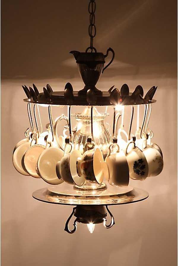 tea time chandelier