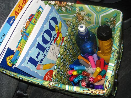 the car organizer pattern