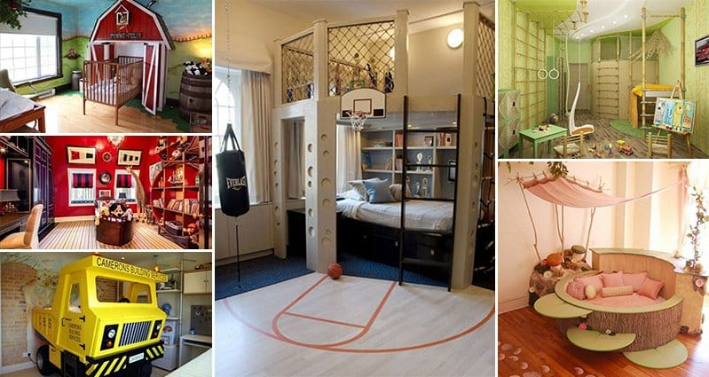 Interior Themed Bedrooms 22 awesome themed bedrooms that every kid would love