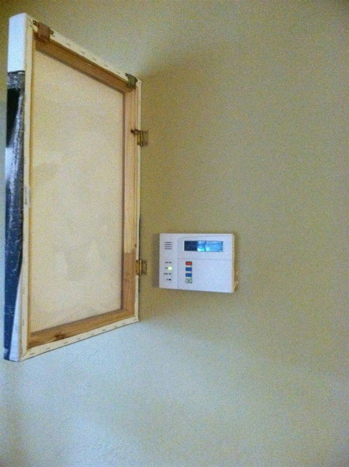 thermostat painting