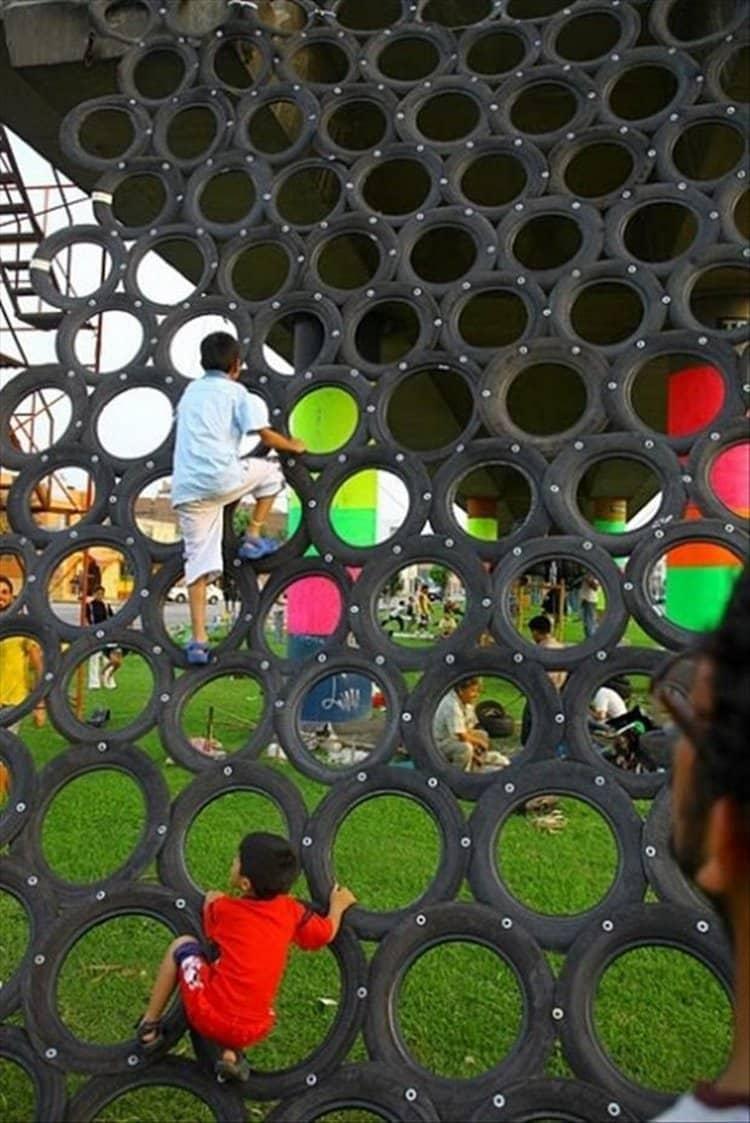 tire-climbing-net