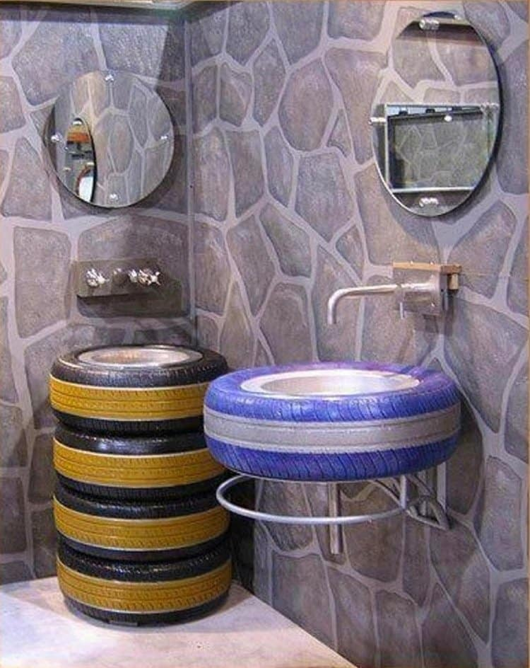 16 creative and amazing ways to reuse old tires for Uses for old tyres