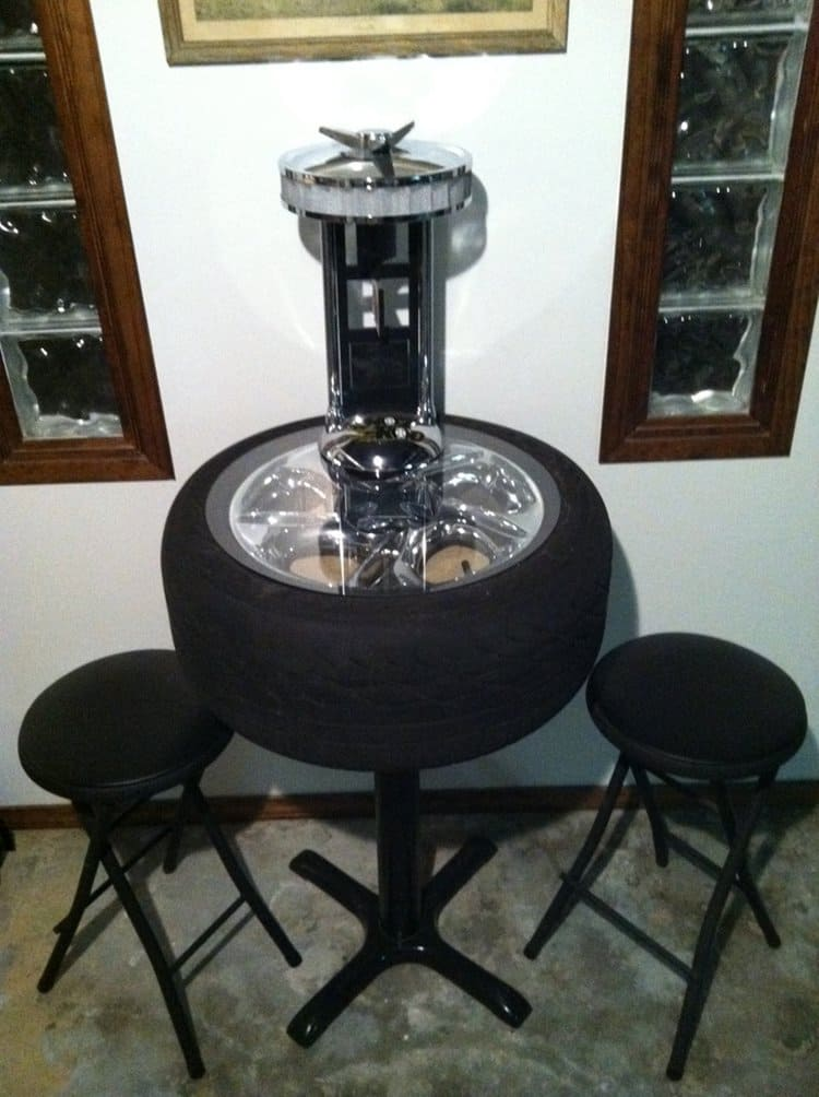 16 creative and amazing ways to reuse old tires for Creative ways to make a table
