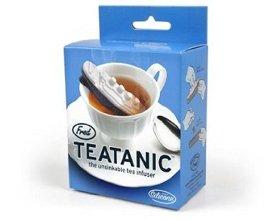 titanic tea infuser box