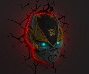 transformers night light