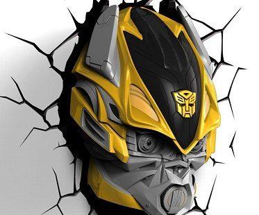 transformers night light bumblebee