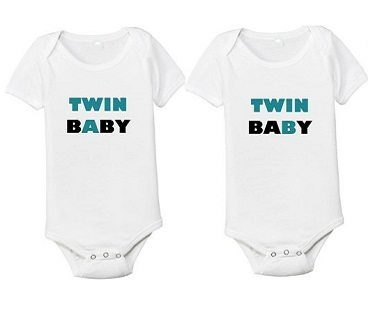 twin a twin b onesies