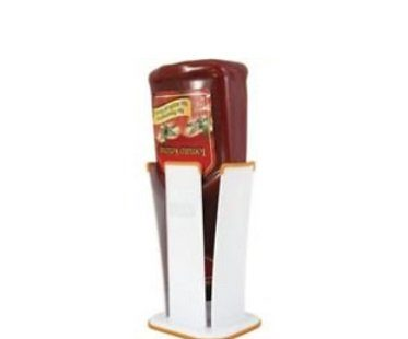 upside down bottle holder ketchup