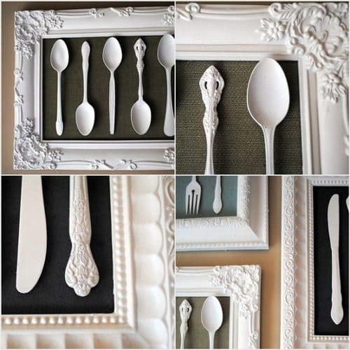 utensil picture frame
