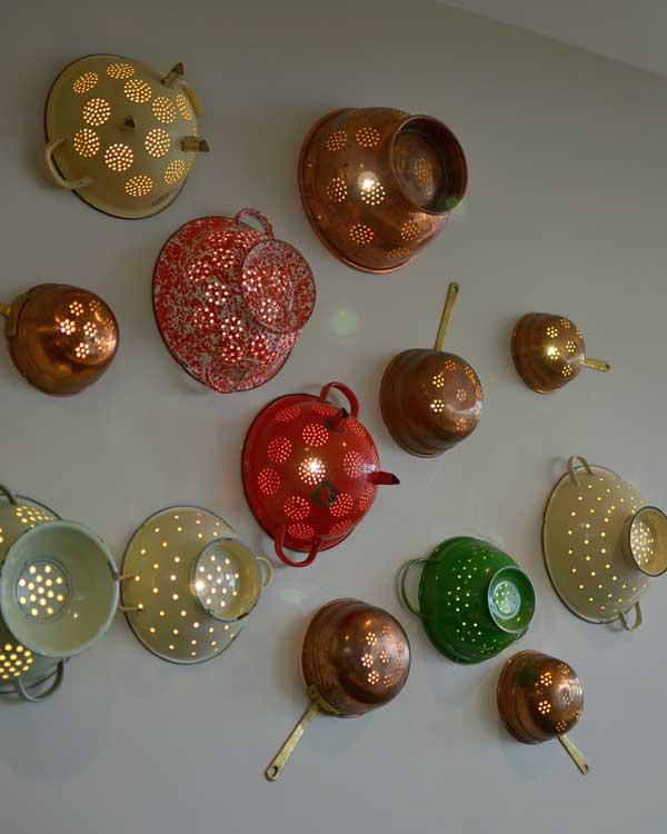 utensil wall lights
