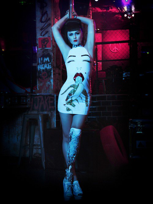 viktoria modesta short dress