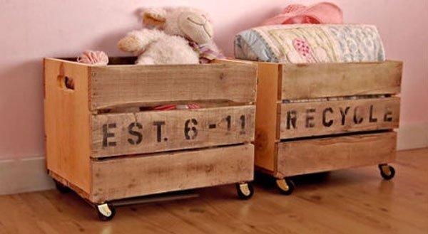 vintage crate carts
