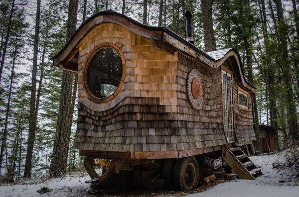 wagon woods window