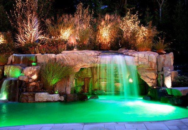 waterfall grotto