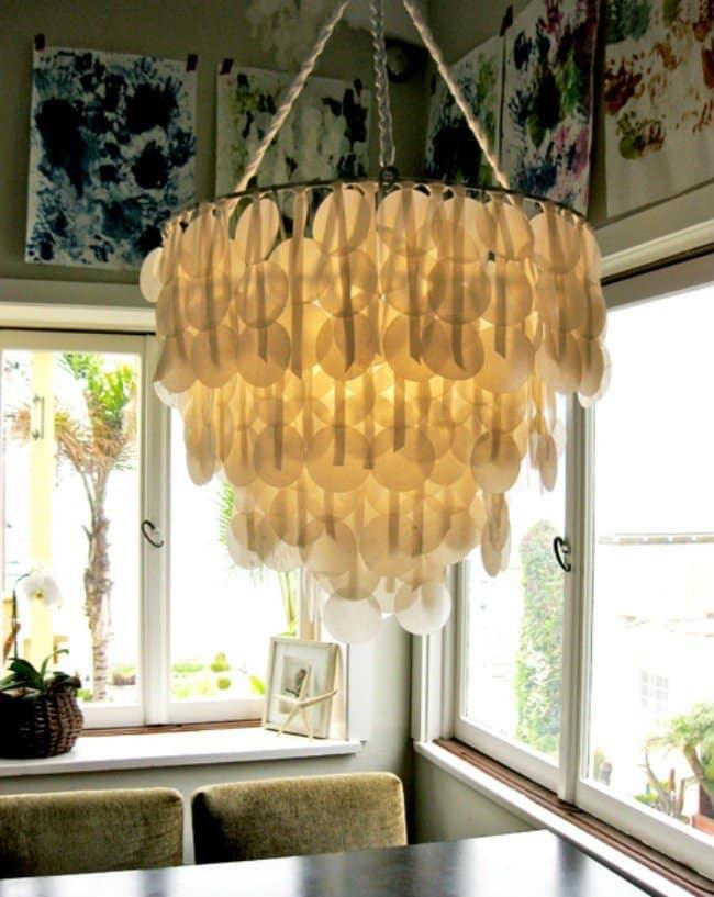 waxed-paper-chandelier