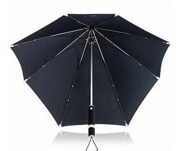 windproof umbrella underneath