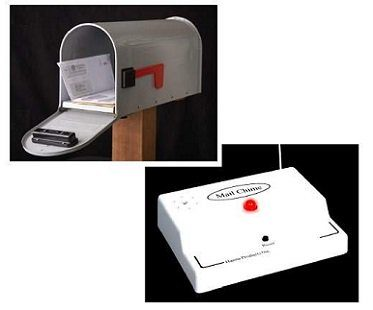 wireless mail alert system box