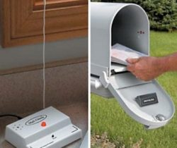 wireless mail alert system chime