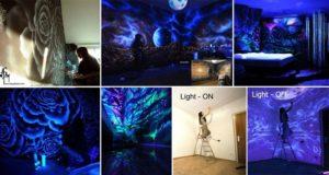 glow in the dark rooms