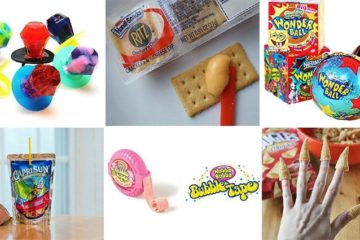 Awesome 90's Foods drinks