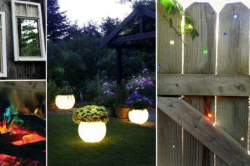 cheap and cheerful backyard ideas