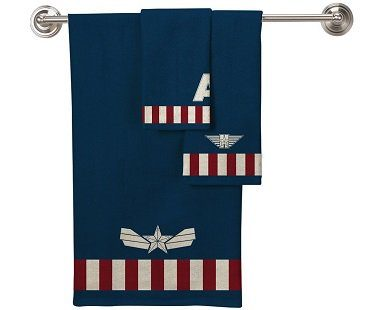 Captain America Towel Set 3 piece