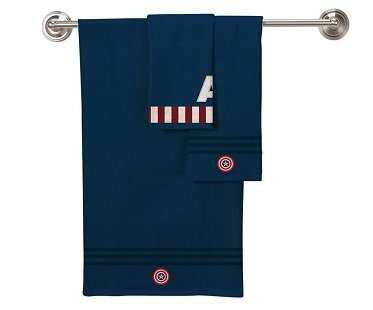 Captain America Towel Set navy