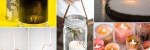 DIY candle projects