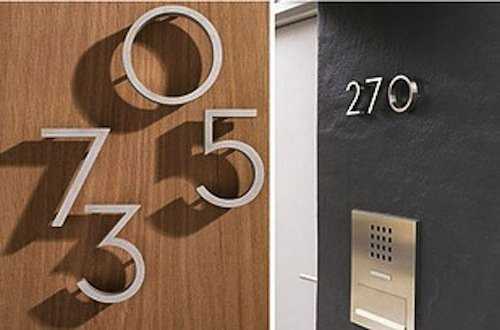 DIY-housenumbers