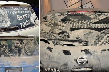 Dirty Cars Art
