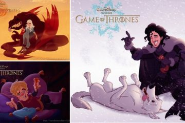 Disney Game Of Thrones Artwork